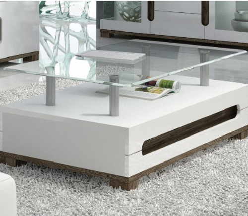 Costa White Coffee Table - 2525